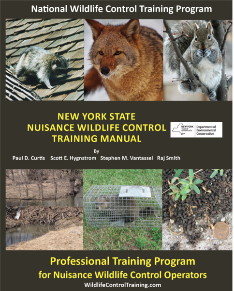 Training information for wildlife control operators research new york state nwco training manual sciox Images